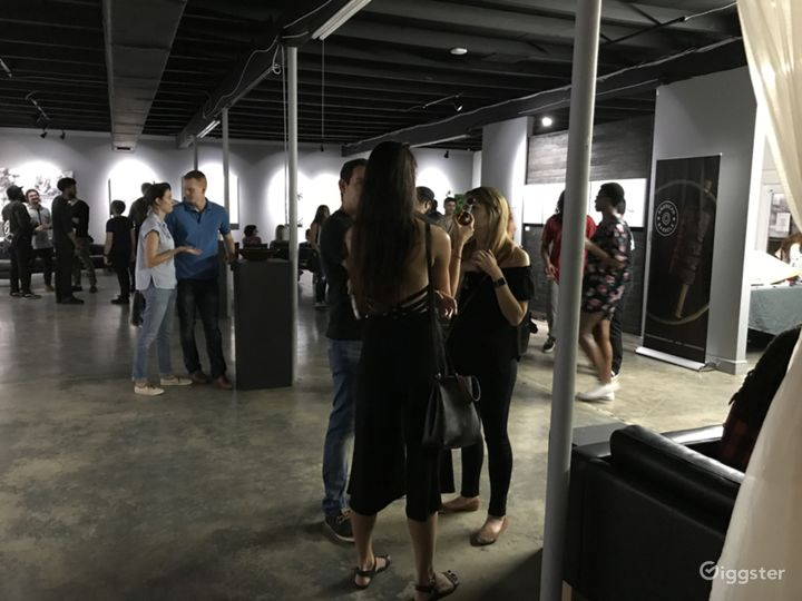 Trendy modern industrial art and music venue Photo 2