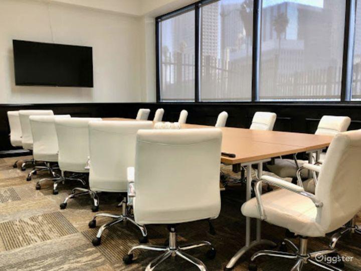 Spacious Executive Boardroom in Los Angeles Photo 5
