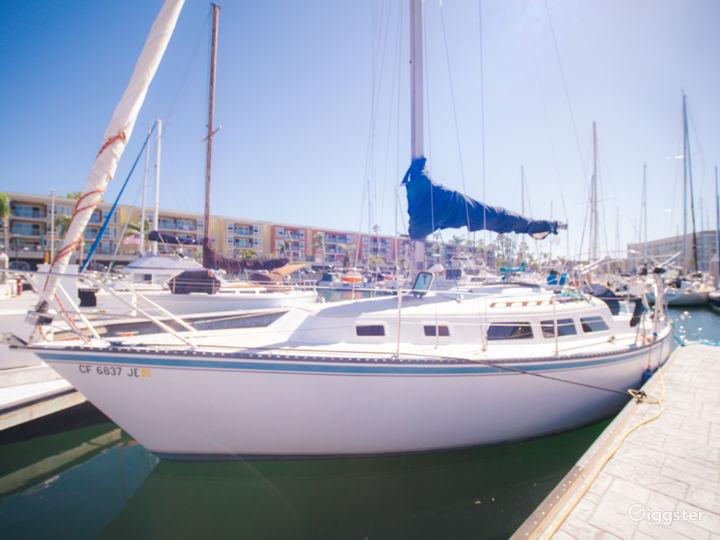Beautiful Sailboat in Marina del Rey!