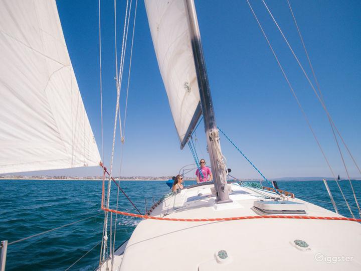 Beautiful Sailboat in Marina del Rey!  Photo 3