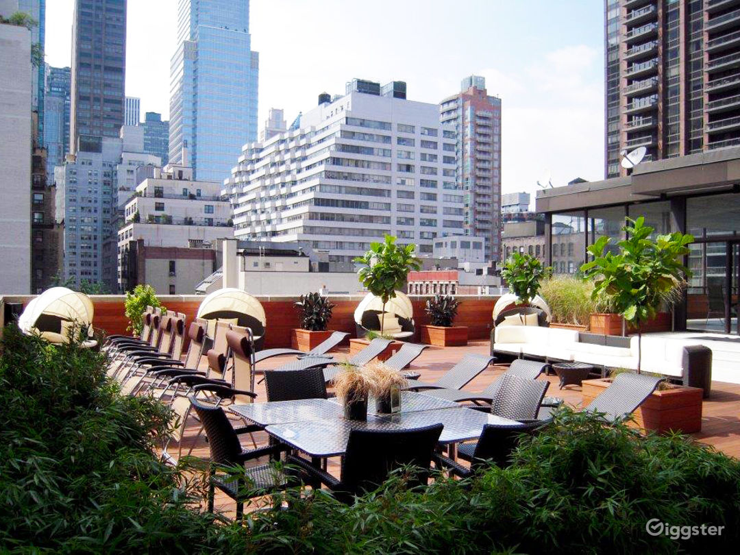 Relax at the Roof Deck in Midtown East Photo 1