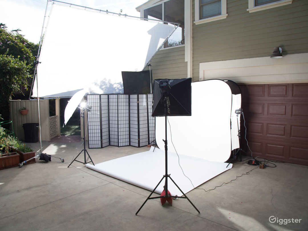 Covid19 Safe Outdoor Photography studio Part1