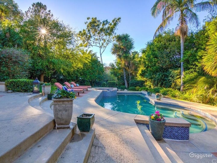 Pool and Citrus Grove