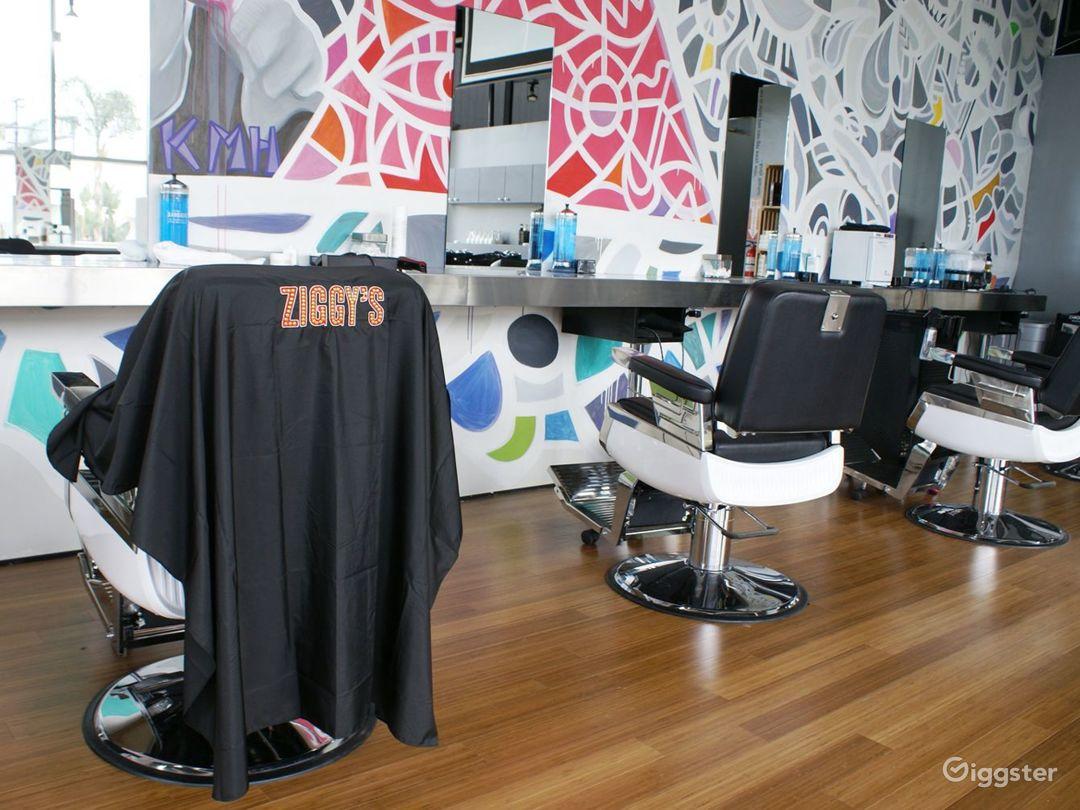 Modern-Vintage Salon/Barbershop Photo 1