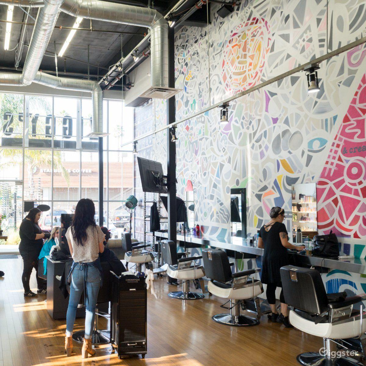 Rent Modern-Vintage Salon/Barbershop Barber Shop, Salon/Spa ...