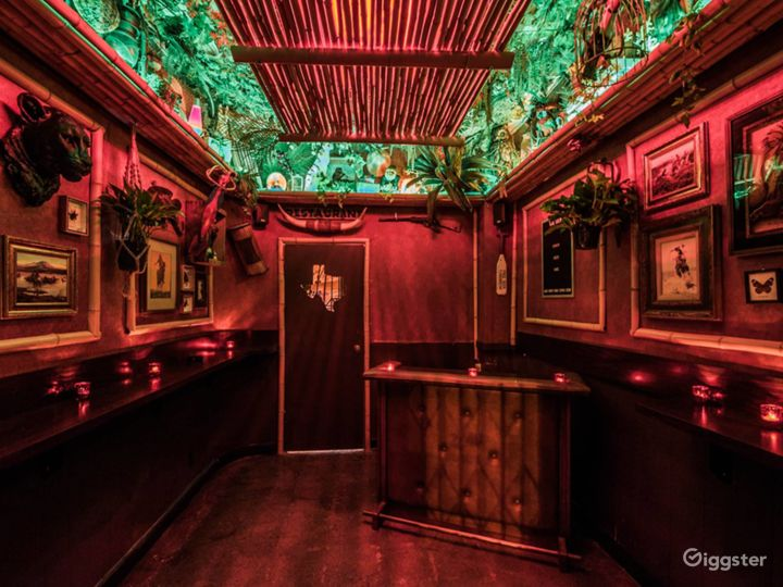 A Super Cute and Cozy Tiki Themed Style Bar Photo 2