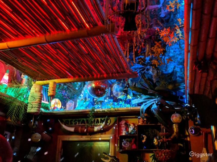 A Super Cute and Cozy Tiki Themed Style Bar Photo 5