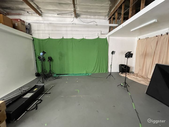 Fabric Backdrop Set, Can change colors with Gel kit