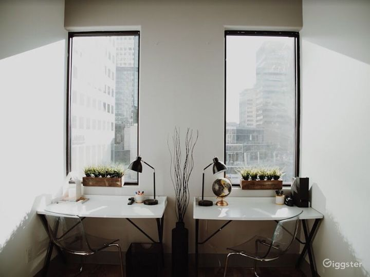 Well-outfitted Private Office for 2