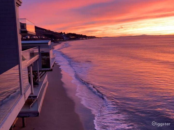 Malibu Oceanfront Modern Home