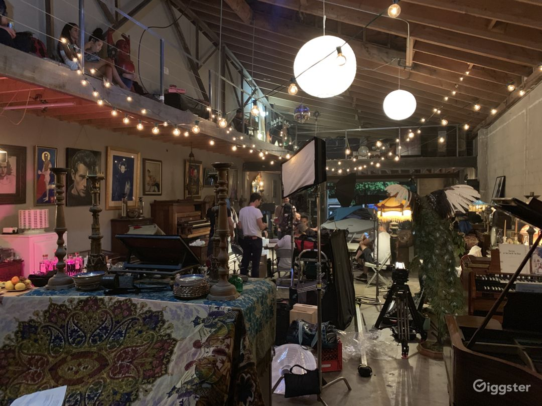 2000 Sq ft eclectic bohemian warehouse Photo 1