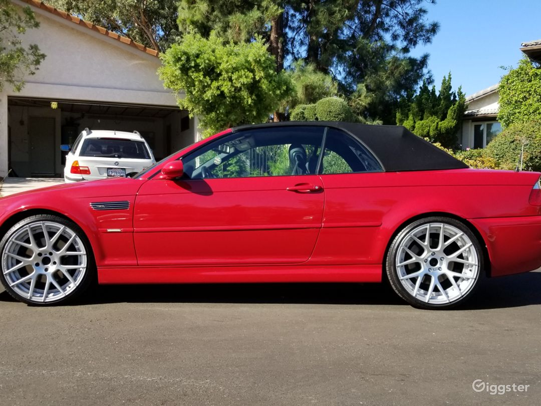 2004 BMW M3 RED CONVERTIBLE Photo 3