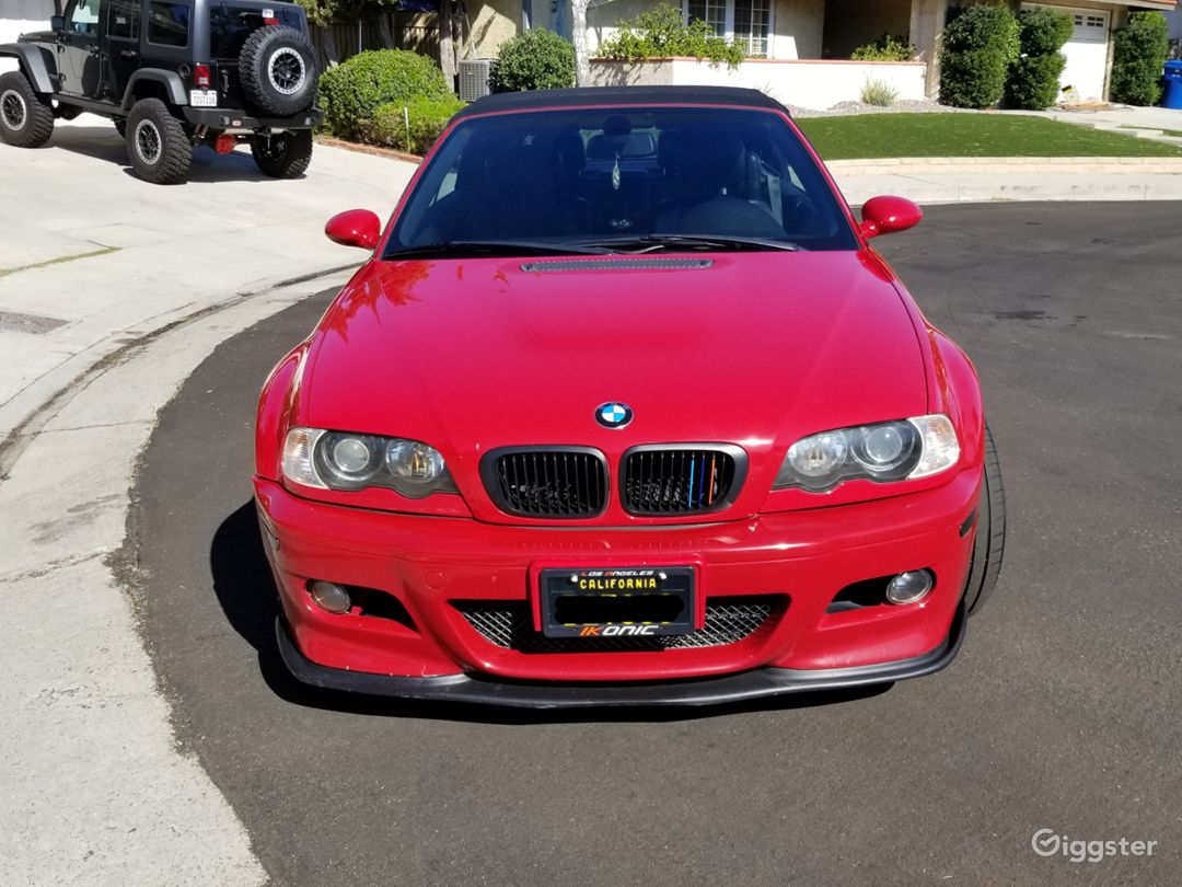 2004 BMW M3 RED CONVERTIBLE Photo 5