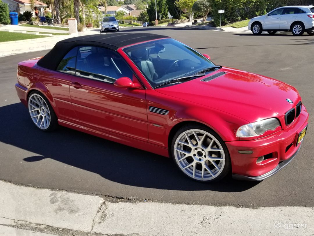 2004 BMW M3 RED CONVERTIBLE Photo 1