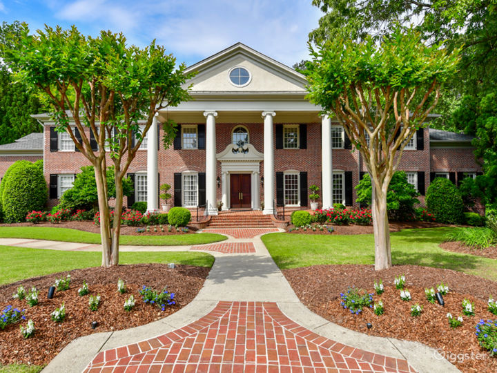 Stunning Colonial Style Mansion with Deck, Pool and Woods