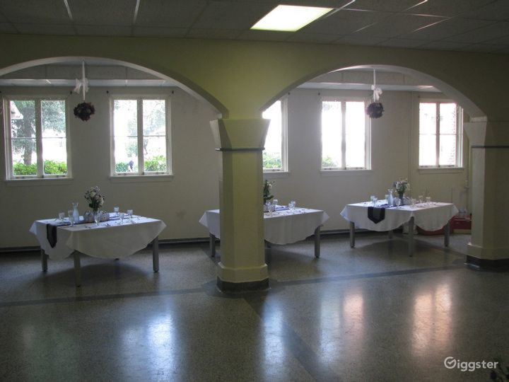 Tacoma Dining Hall with Historical Feel Photo 4