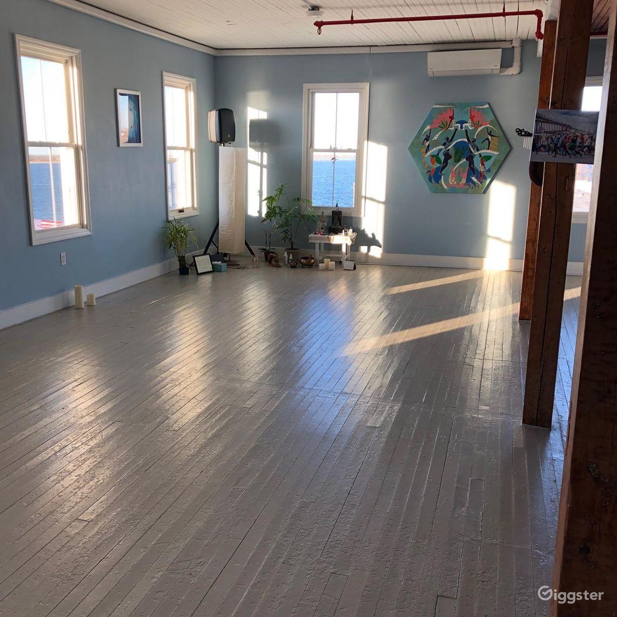 Intimate Yoga Studio by the Bay near Rockaway Park New York Rental