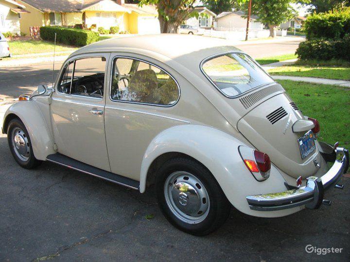 rent 1970 vw bug car (transportation) for film/photoshoot in los