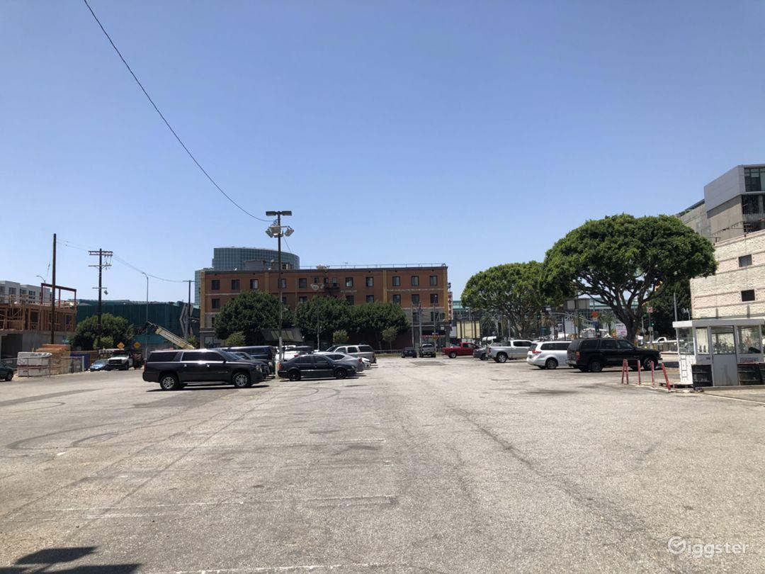 Convention Center Surface Parking Lot  Photo 1