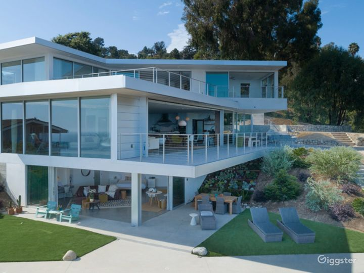 Oceanview Modern -  Mid Century Mansion On Pacific Photo 3