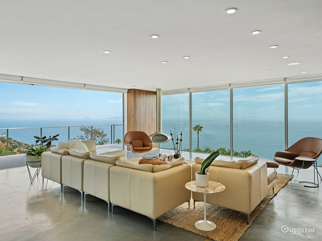 Oceanview Modern -  Mid Century Mansion On Pacific Photo 1
