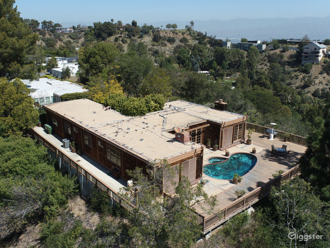 """Hollywood Hills """"Tree House"""" with Views Photo 1"""
