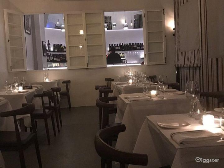 Gorgeous Italian Restaurant in Encino