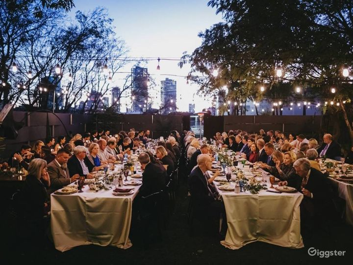 One-of-a-kind atmosphere for your event!