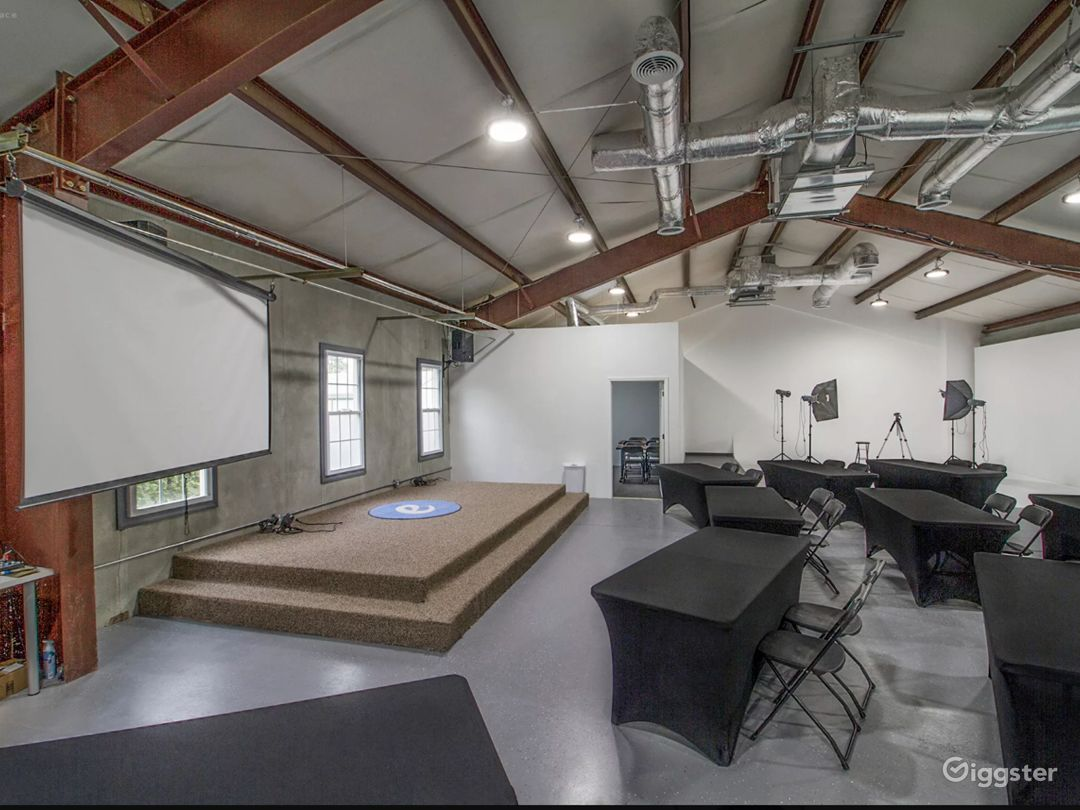 4,000 Sq Ft  Filming Content Creation Center for Rent Photo 3