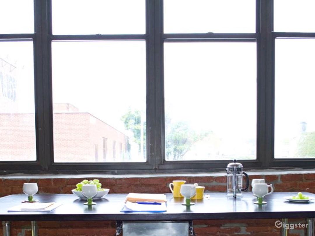 Industrial Brooklyn Kitchen Studio Photo 1