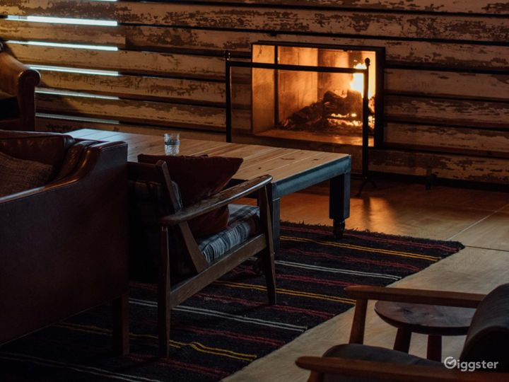 Lovely Lounge with Fireplace in Marietta Photo 3
