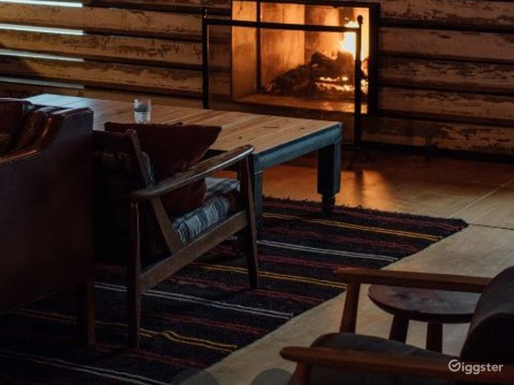 Lovely Lounge with Fireplace in Marietta Photo 2