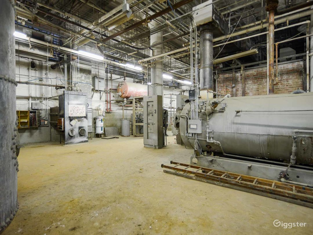 Amazing Industrial Boiler Room Photo 4