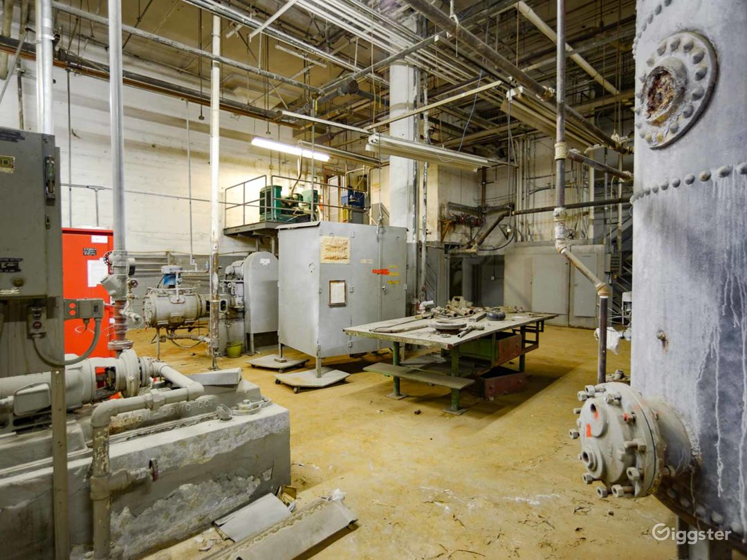 Amazing Industrial Boiler Room Photo 5