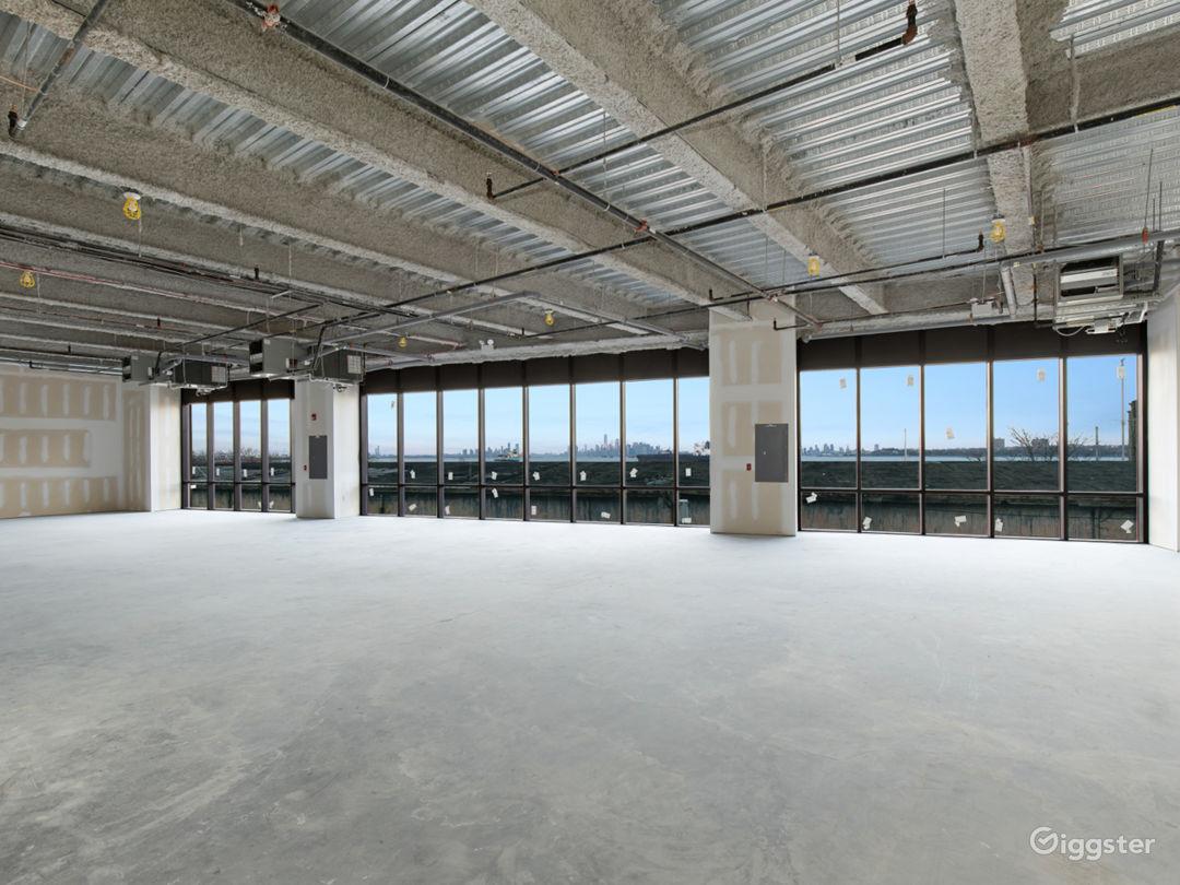 Floor 2 - open raw space