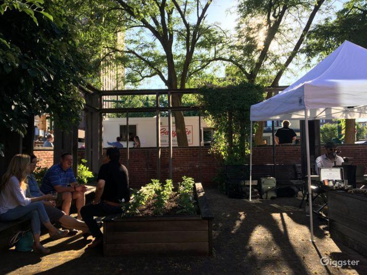 Museum Event Space - Locktender's Garden