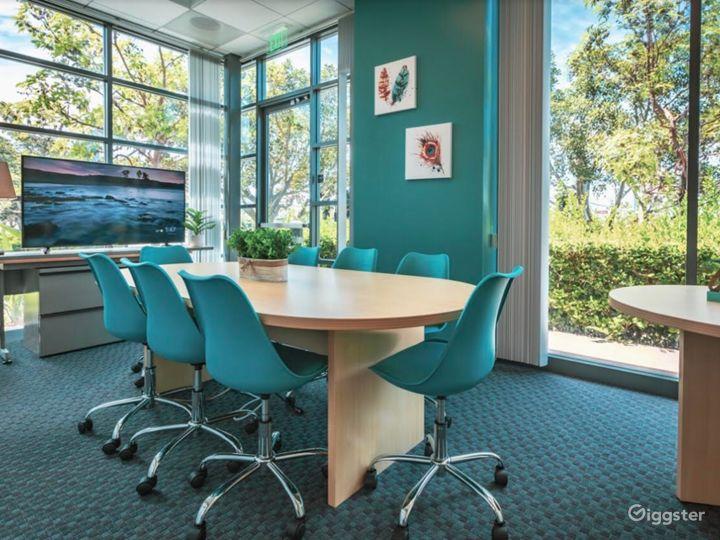 Modern-Looking, Spa-Inspired Board Room Photo 4