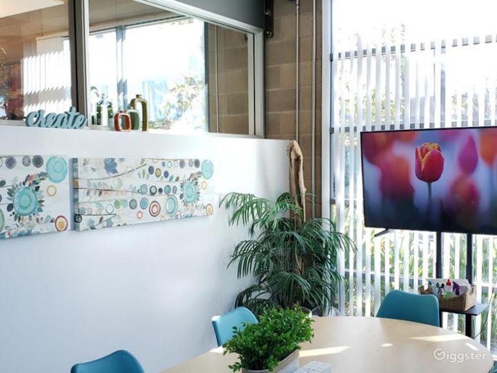 Modern-Looking, Spa-Inspired Board Room Photo 5