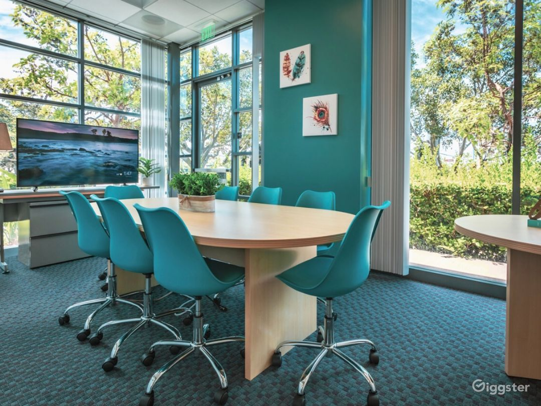 Modern-Looking, Spa-Inspired Board Room Photo 1