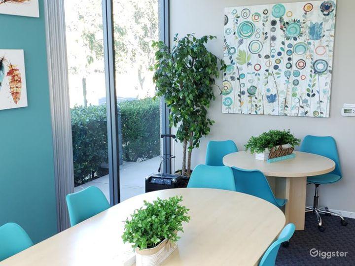 Modern-Looking, Spa-Inspired Board Room Photo 3