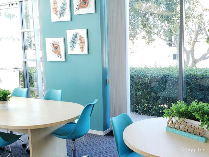 Modern-Looking, Spa-Inspired Board Room Photo 2