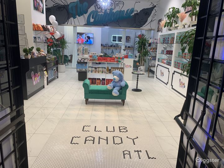 Boutique Candy Store and Event Space Downtown