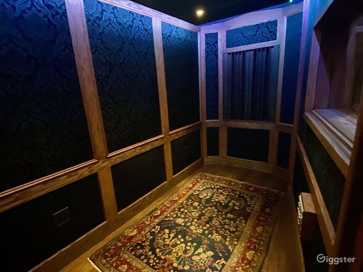 (B) Recording Room  - much bigger than a booth - great for all recording types - Foley, ADR, Vocals, etc.