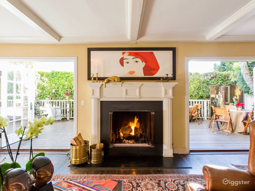 Everyone loves a fireplace. We are lucky to have two!
