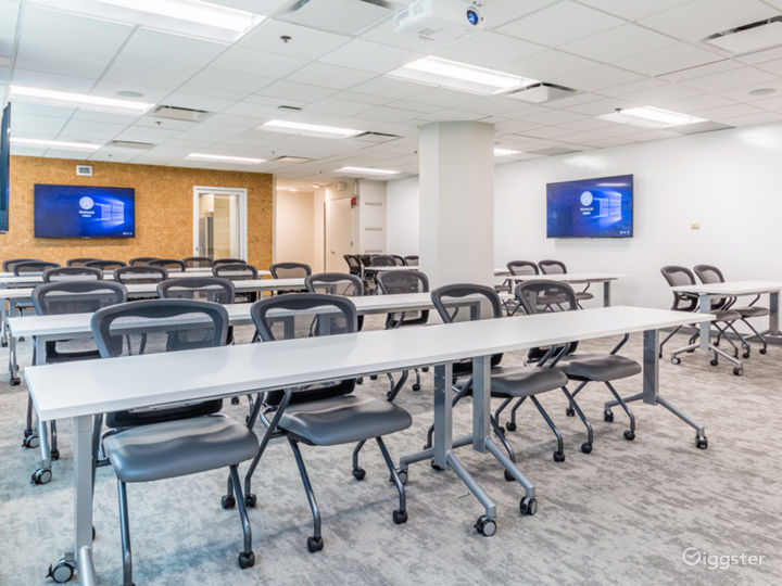 Large Meeting Space - Board Room Setting