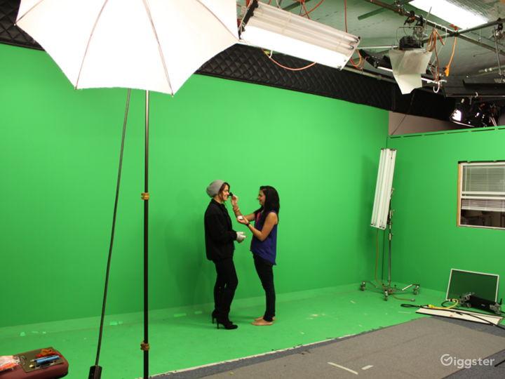 Norcross - Production Studio w/green screen & sets
