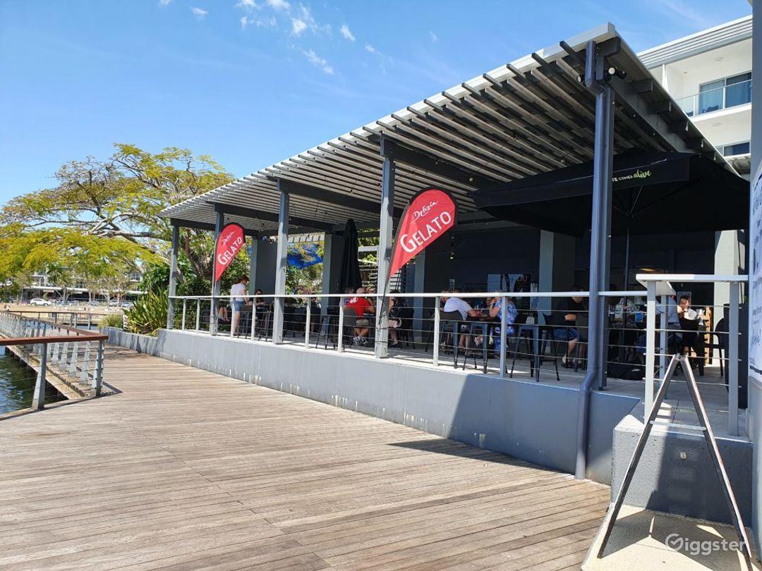 Breathtaking Board Walk Café Restaurant and Deck Photo 1
