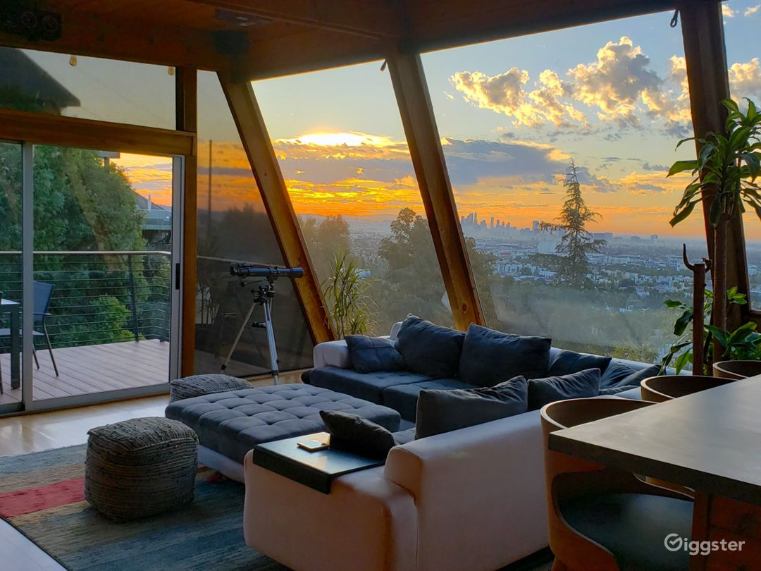 Architectural Wonder Above Sunset-WeHo w/ Big View Photo 1