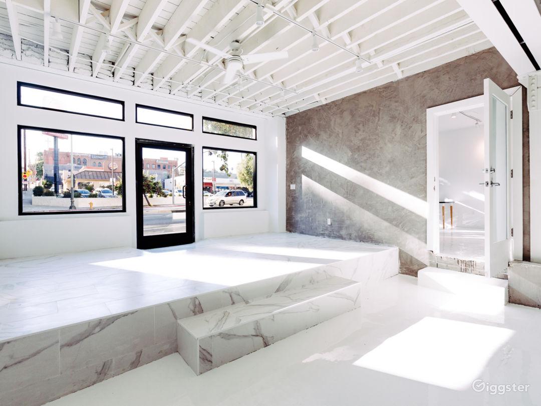 Big Room / Studio space: Entrance