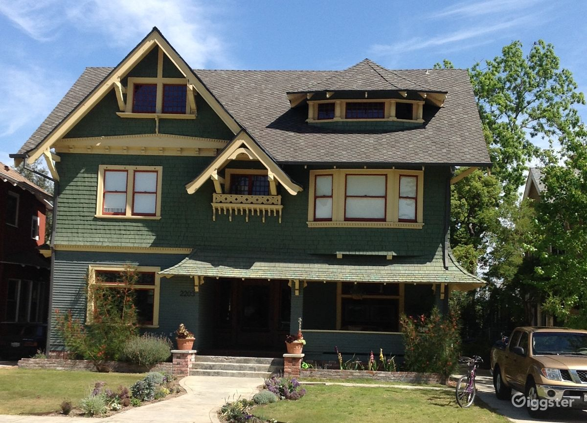 rent 3 story victorian craftsman house house residential for film